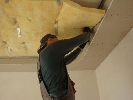 Утепление потолка в частном доме изнутри и снаружи