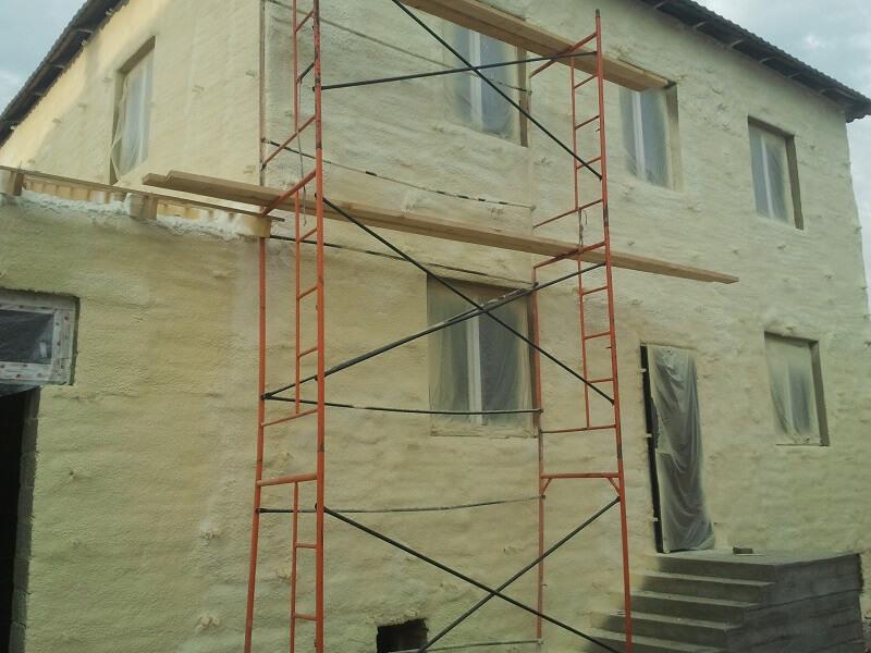 Утепление стен дома в Киеве и по всей Украине. Эффективная теплоизоляция и термоизоляция стен.