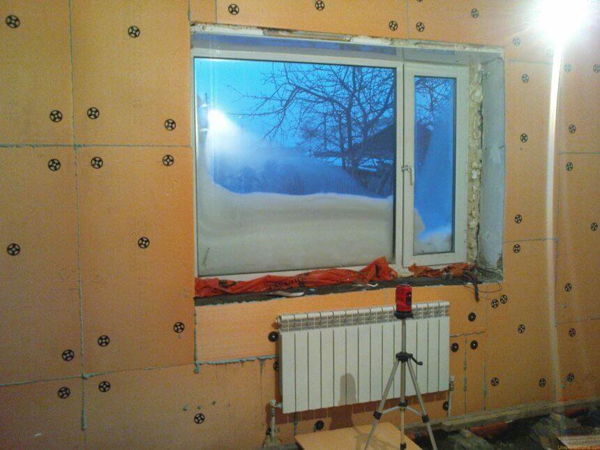Утепление внутри дома. Особенности утепления дома изнутри