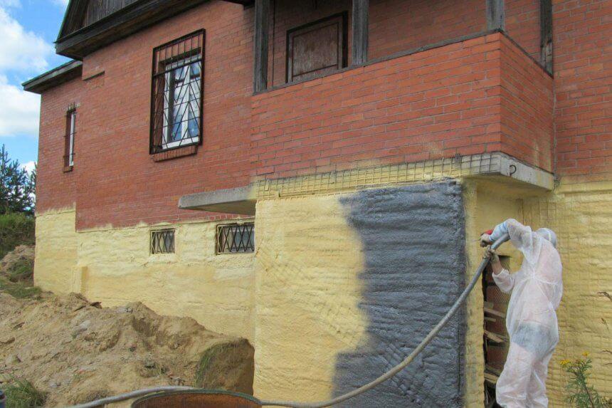 Утепление фундамента частного дома снаружи - наиболее эффективная изоляция