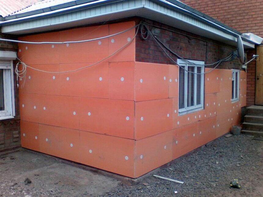 Утепление частного дома снаружи. Материалы для утепления фасадов домов